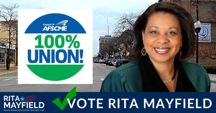 Endorsed by AFSCME Council 31